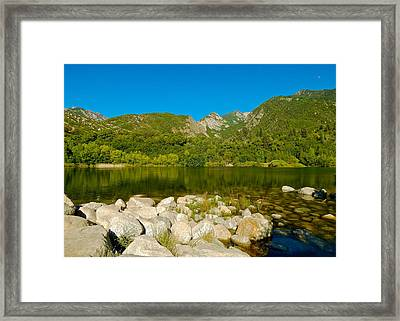 Lower Bells Canyon Reservoir Framed Print