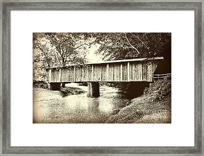 Lower Bridge Framed Print