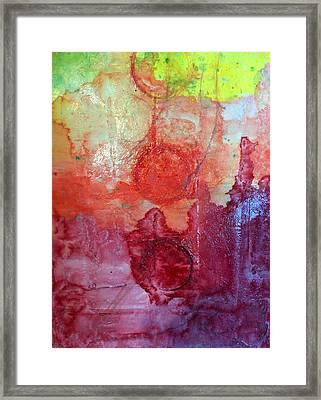 Lower Chakras Blending Framed Print
