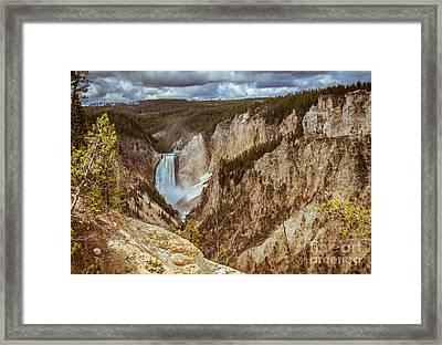 Lower Falls Framed Framed Print