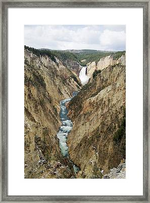 Lower Falls Framed Print