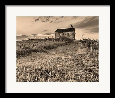 Old School House Framed Prints