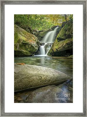 Lower Grotto Falls Framed Print