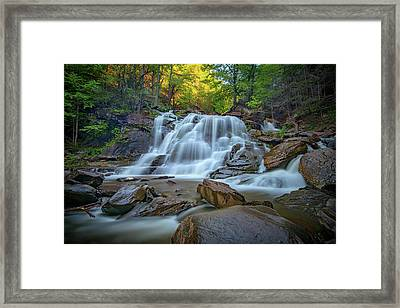 Lower Kaaterskill Falls II Framed Print