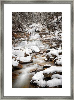 Lower Kent Falls 2016 Framed Print