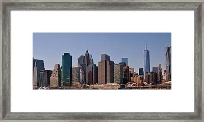Lower Manhattan Nyc #2 Framed Print