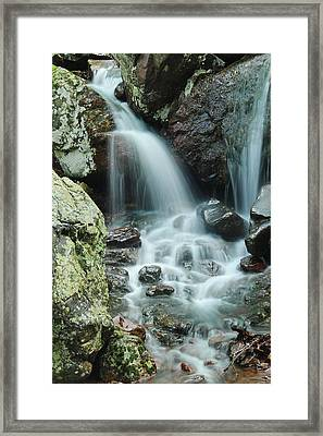 Lower Mina Sauk Falls 1 Framed Print