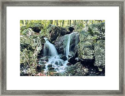 Lower Mina Sauk Falls 2 Framed Print