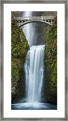 Lower Multnomah Falls Framed Print by Paul Freidlund