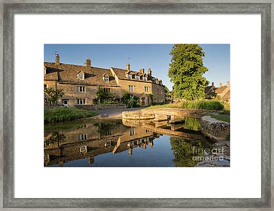 Lower Slaughter Cotswolds Framed Print by Tim Gainey