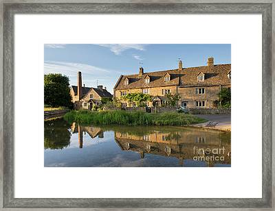 Lower Slaughter Framed Print by Tim Gainey
