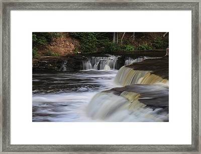 Lower Tahquamenon Summer Framed Print by Rachel Cohen