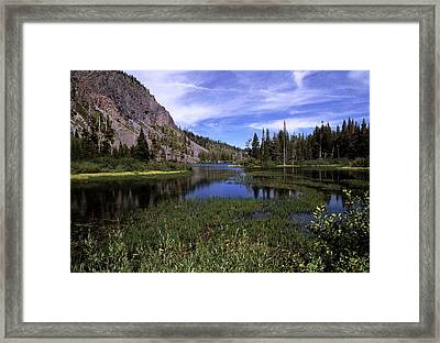 Lower Twin Lakes Framed Print