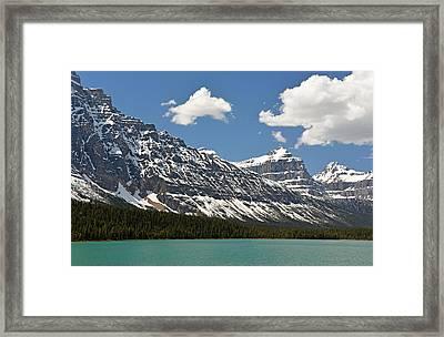 Lower Waterfowl Lake Framed Print