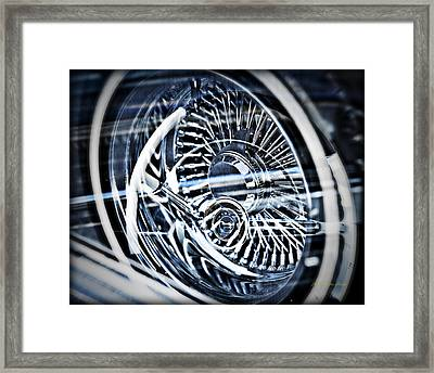 Lowrider Wheel Illusions 1 Framed Print
