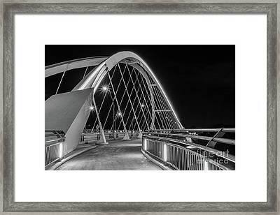 Lowry Avenue Bridge Framed Print