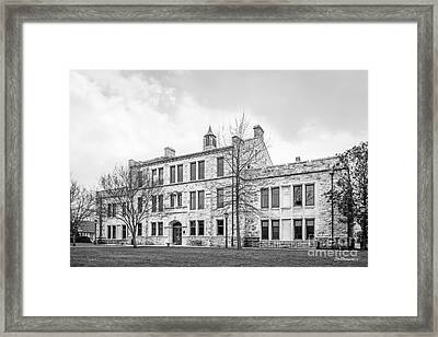 Loyola University Maryland Beatty Hall Framed Print
