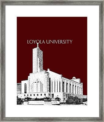 Loyola University Version 1 Framed Print by DB Artist