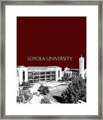Loyola University Version 3 Framed Print by DB Artist