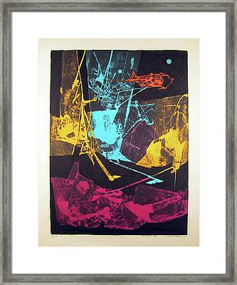 Ls1974ny001  5-14 Luz Amarilla 15.75x21.25 Framed Print