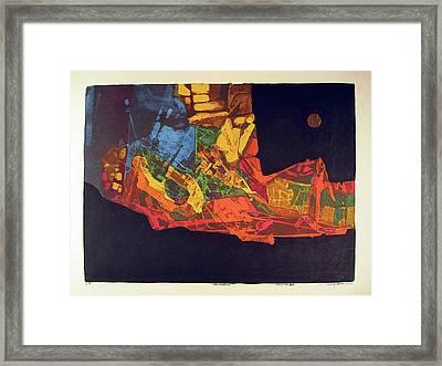 Ls1974ny002 11-16 Ilumination 21.5x15.75 Framed Print