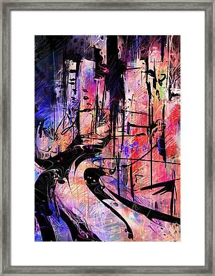 LSD Framed Print by Rachel Christine Nowicki