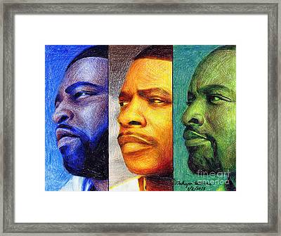 Lsg Music Group Framed Print by Fahiym Williams