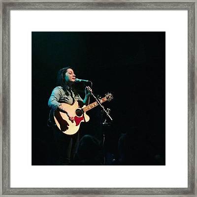 @lspraggan #brighton #livemusic #music Framed Print by Natalie Anne
