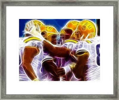 Lsu Magical Framed Print by Paul Van Scott