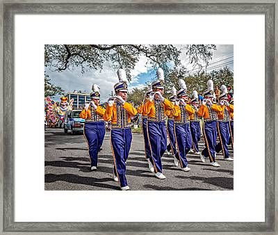 Lsu Tigers Band 5 Framed Print