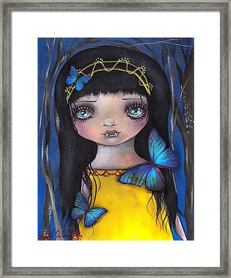 Lu Framed Print by  Abril Andrade Griffith