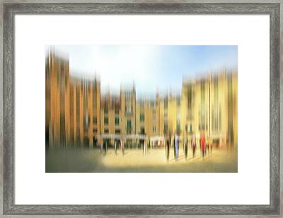 Lucca Ampitheatre Impression 1 Framed Print by Marty Garland