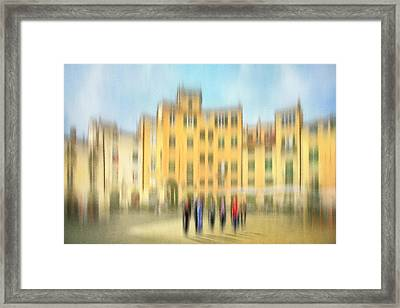 Lucca Ampitheatre Impression 2 Framed Print by Marty Garland