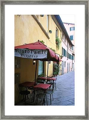 Lucca In Tuscany Framed Print by  K Scott Williamson