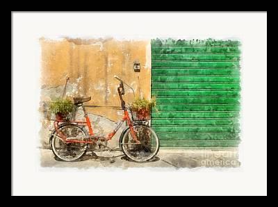 Lucca Digital Art Framed Prints