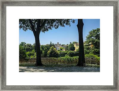 Lucca Italy Framed Print by Edward Fielding