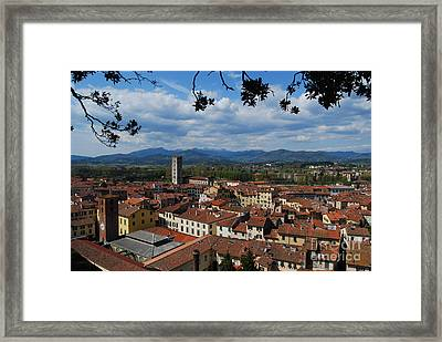 Lucca - Italy - From The Top Framed Print