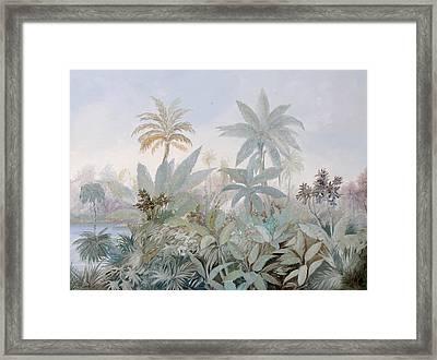 Luce Nella Nebbia Framed Print