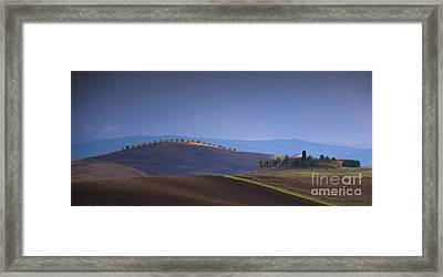 Luce Su I Colli Framed Print by Marco Crupi