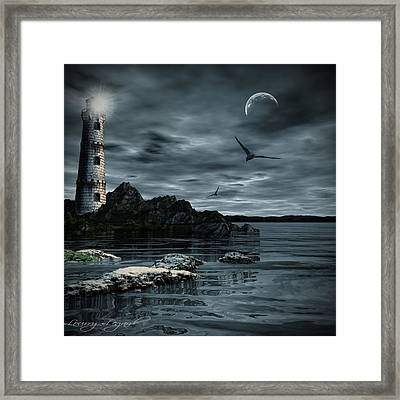 Lucent Dimness Framed Print