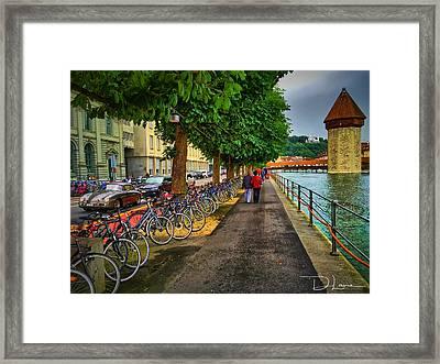Lucern Stroll Framed Print