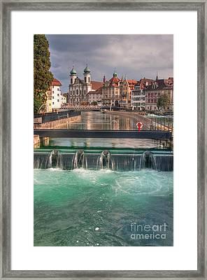 Lucerne Framed Print by Caroline Pirskanen