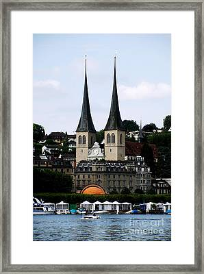 Lucerne Cathedral Framed Print