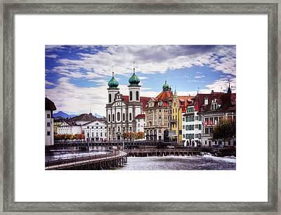 Lucerne Switzerland  Framed Print