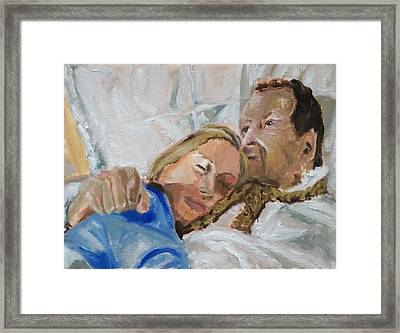 Lucian And Kate I Framed Print by Bachmors Artist
