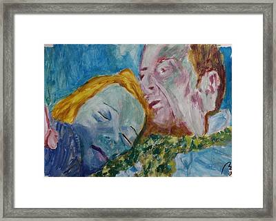 Lucian And Kate Iv Framed Print by Bachmors Artist