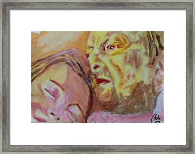 Lucian And Kate V Framed Print by Bachmors Artist