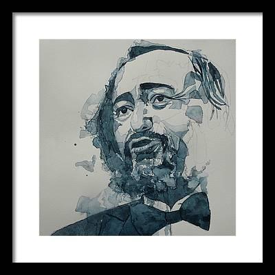 Luciano Pavarotti Framed Prints