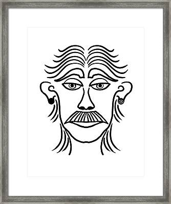 Luciano Framed Print