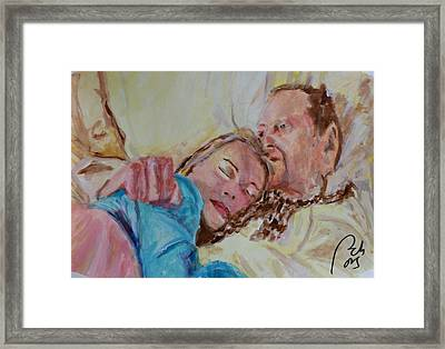 Lucien And Kate II Framed Print by Bachmors Artist